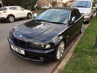 BMW 330ci Auto Convertible Sport Petrol Black Xenon Sat Nav Harmon Kardon System Heated Seats