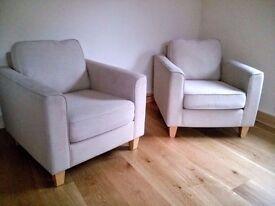 One or two John Lewis Portia armchair(s)