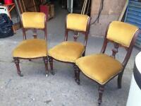 Chairs church