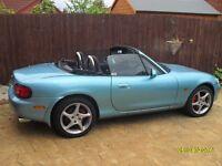 Mazda 1.8 MX5, 2002, 6 Speed, 12 Months MOT - PX for Rib or Speedboat or SWAP