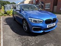BMW M135i 8-speed auto 3.0l turbo - immaculate condition - over £5k extras - first to see will buy!