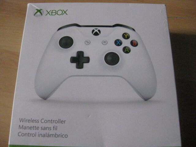 microsoft xbox one s wireless controller bluetooth compatible with xbox one pc desktop. Black Bedroom Furniture Sets. Home Design Ideas