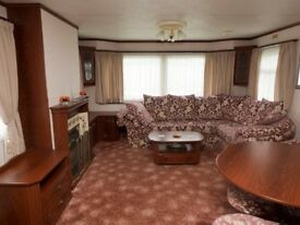 AFFORDABLE DELUX PET FREE CARAVAN FOR HIRE / FOR LET ON HOLIVANS IN MABLETHORPE, LINCOLNSHIRE