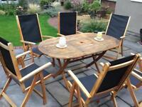 Garden Patio 6 Seater Set