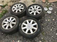 2004 VW Volkswagen Golf Alloys Wheels Rims 16 Inch