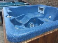 Hot Tub - American 2M by 2M includes delivery by Hi Ab