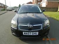 Toyota Avensis 2.0D4D estate 6speed manual facelift