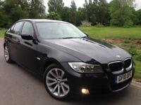 BMW 320D 2010 SE BUSSINESS ED SATNAV FULL LEATHER 1P OWNER 189K