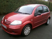 Citroen C3 1.1 Desire 5 Door 2005 12 Months MOT Full Service History (2 Cam belt Changes)