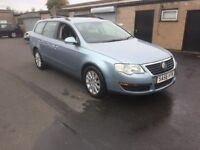 BARGAIN 2006 56 VW PASSAT TDI 140BHP SERVICE HISTORY 1 YEARS MOT RELIABLE CAR PX WELCOME £1595