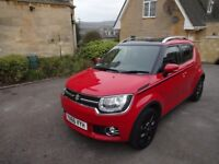 Suzuki Ignis 2017 SZ5 4X4 Allgrip 1.2 SHVS Hybrid Red/Black Roof