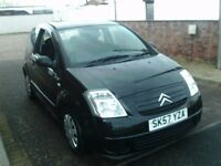 2007 57 CITROEN C2 1.1 AIRPLAY+ ** ONLY 69000 MILES ** 12 MONTH MOT ** LOW INSURANCE **