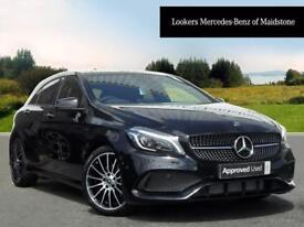 Mercedes-Benz A Class A 200 D WHITEART (black) 2017-07-19