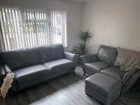 Sofology Italian leather couches