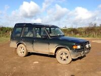 Land Rover Discovery 1 300tdi auto for spare or repair