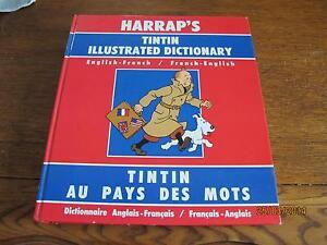Dictionnaire Harraps Tintin / jeux de cartes / bandes dessinées