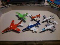 Matchbox die cast aircraft x6