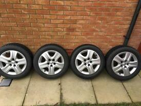 Winter wheels and tyres 5x120 Vauxhall Insignia