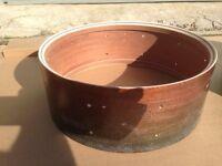 Custom mahogany/birch snare drum shell w/ re-rings