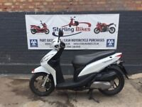 HONDA VISION WHITE 110cc 2016 VERY LOW MILEAGE