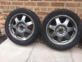 Toyota Prius alloy wheels an tyres