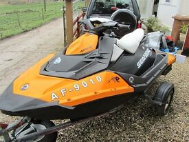 SEADOO SPARK JETSKI 90HP HO ROTAX FITTED iBR IN SUPERB CONDITION!