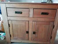 Wooden\Oak effect Sideboard, furniture