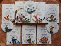 Walt Disney Baby Einstein Collection Of 10 DVDs