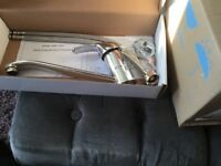 450mm round stainless steel sink and mixer tap