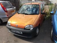 FIAT SEICENTO 1.1 3 DR HATCHBACK LOW MILEAGE MOTED VGC