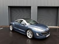 2010/60 Peugeot RCZ 2.0 HDi GT 2dr - FULL PEUGEOT SERVICE HISTORY / FULL LEATHER INTEIROR
