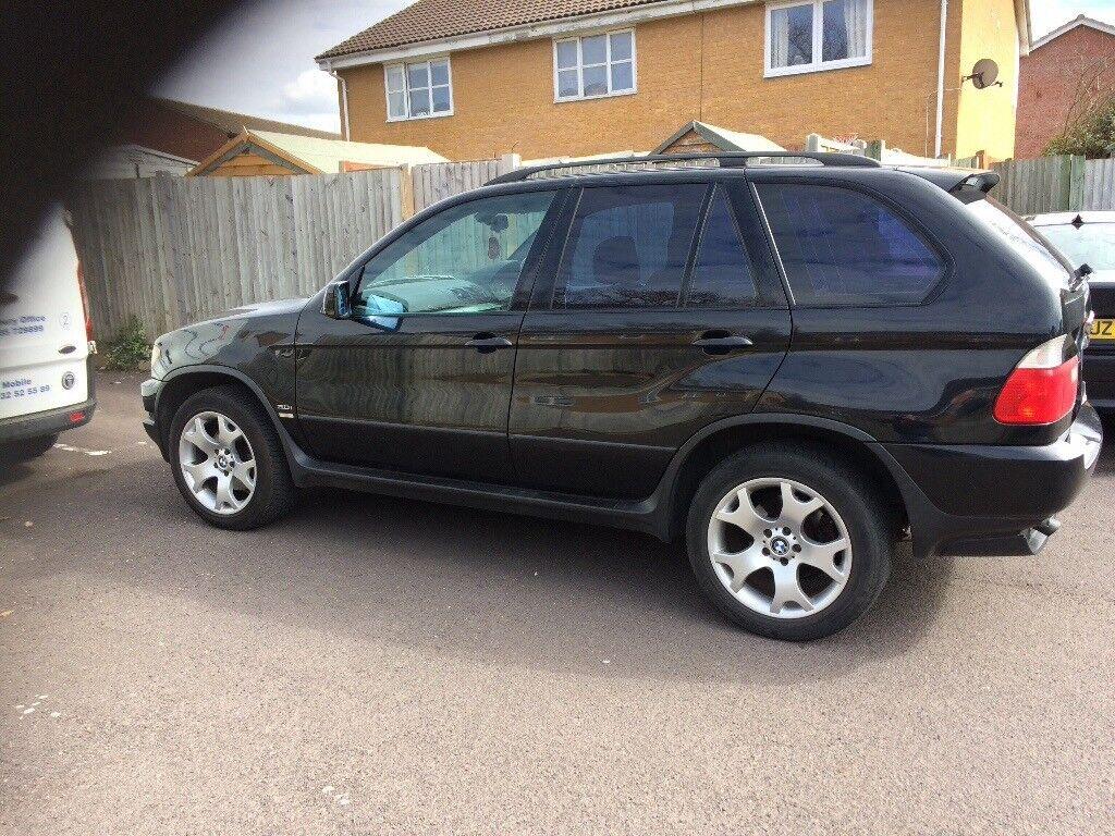 BMW X5 SPORT 74,000 MILES 2003/53 5 SPEED MANUAL PETROL