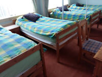 nice clean room with private parking internet