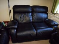 3 + 2 Seater Leather Recliner Sofas