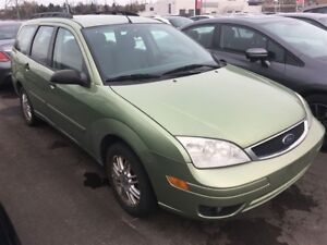 2007 Ford Focus ZXW SE   Manual   As-Is