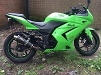 2008 Kawasaki ex250r ex 250 ex250 r ninja low miles Px swap
