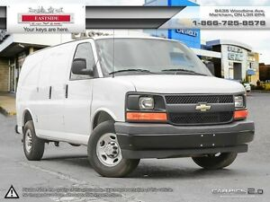 2017 Chevrolet Express 2500 ONLY 12000KM, SHORT BOX