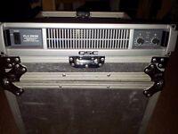 QSC PLX3602 2U Rack mount power amplifier