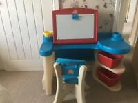 Step 2 toddler/children desk and chair