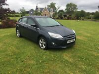 2012 FORD FOCUS 2.0 TDCI ZETEC GREY MANUAL 5DR **LOW MILEAGE** STUNNING ** FSH **