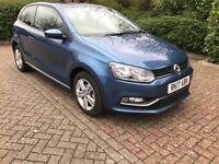 2017 VW Polo Tech Automatic gearbox, Navigation, Parking sensors, Bluetooth, Media