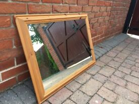 Mirror In Pine Frame