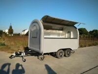 Mobile Catering Trailer Burger Van Pizza Trailer Hot Dog Ice Cream Food Cart
