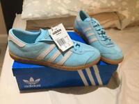 Adidas Hamburg frost blue 9.5uk new in box