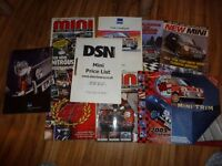 Job Lot over 60 Plus Mini Magazines, Worlds & Parts Catalogues 1996-2005 Collection