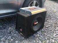 JBL 400w Amp and 1000w sub