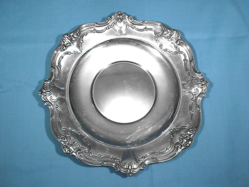 GORHAM STERLING SANDWICH PLATE #746 ~ CHANTILLY - DUCHESS ~ NO MONO