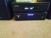 Soundstrom DAB Radio and cd player