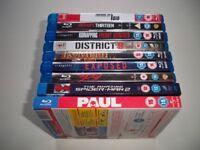 Bundle of Blu-rays x9 (Spiderman, 300, Pompeii + More)