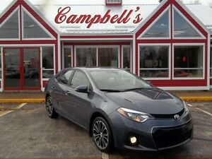 2014 Toyota Corolla SPORT!! HEATED LEATHER!! SUNROOF!! 17 ALLOYS